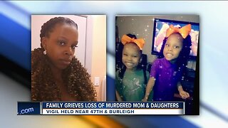 Family grieves loss of murdered mother and daughters
