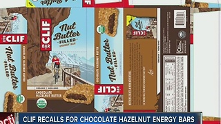 CLIF Bar & Company recalls energy bars - Video