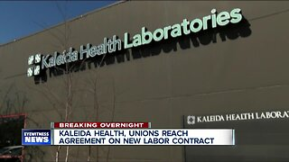 Kaleida Health and unions reach agreement on new labor contract