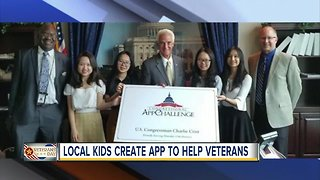 Pinellas County students create app to help vets