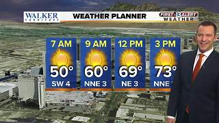 13 First Alert Las Vegas Weather for February 8 Morning - Video