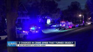 Three charged in violent Milwaukee crime spree - Video