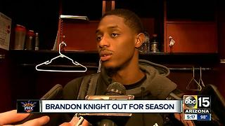 Brandon Knight out of the Suns after injury - Video