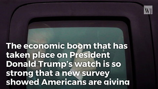 Majority of Americans Say Economy Is Good -- Highest Rating Ever in 10 Years of CNBC Poll
