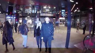 Professor Green departs One New Change in London with girlfriend - Video