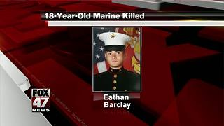 U.S. Marine stabbed to death at Camp Pendleton - Video