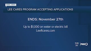 Lee Cares application deadline