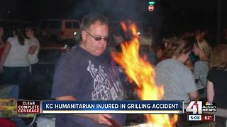 'Taking it to the Streets' founder severely burned in grill accident - Video
