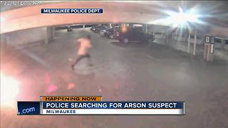 Milwaukee police need your help tracking down this arson suspect [VIDEO] - Video