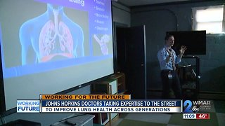 Johns Hopkins doctors take their expertise to the streets