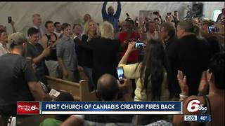 First Church of Cannabis creator fires back at Indiana Attorney General Curtis Hill - Video