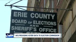 New York State to Give Voter Data to White House - Video