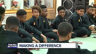 Meet the man transforming young lives with discipline, love and guidance in Detroit