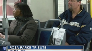 MCTS honors Rosa Parks Thursday - Video