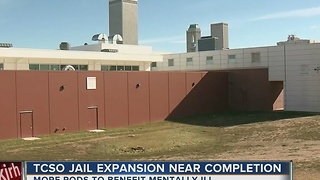Tulsa Co. Jail project nears completion; officers receive mental health training. - Video