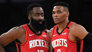 Russell Westbrook Calls BS On Rumors He Is Sick Of Playing In Houston With James Harden
