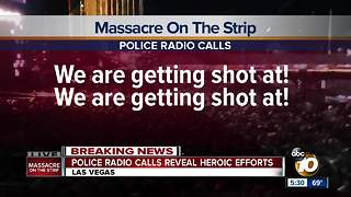 Police radio calls reveal heroic efforts - Video