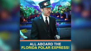 The Polar Express has arrived in Central Florida | Taste and See Tampa Bay - Video