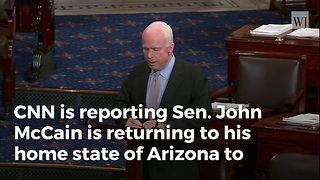 Report: McCain To Begin Cancer Treatments Next Week - Video