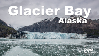 Stunning footage of the majestic Glacier Bay in Alaska - Video