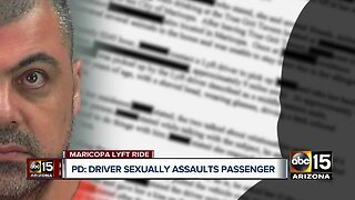 Lyft driver in Maricopa arrested for sexually assaulting passenger