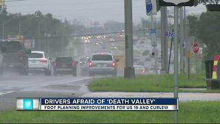 Drivers afraid of 'death valley' - Video