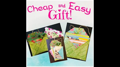 Cheap and Easy Gift