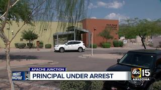 Apache Junction principal asked girls to skinny dip at his home - Video