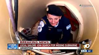 Argentina looks to San Diego sailors to save missing submarine crew in Argentina - Video