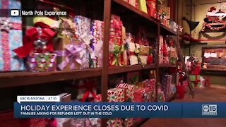 Holiday experience closes due to COVID, customers want refunds
