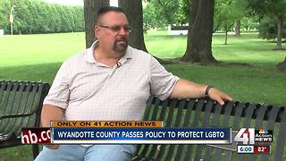 WyCo first in Kansas to ban LGBTQ discrimination - Video