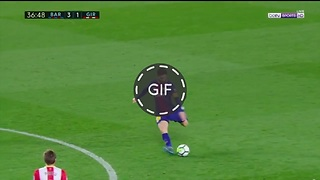 Golazo de Messi vs Girona - Video