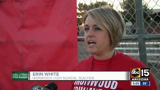 Teachers stage walk-ins across Arizona