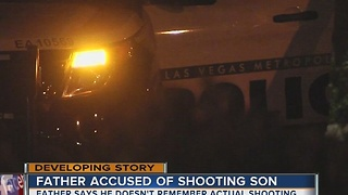 Arrest report released for father accused of shooting son - Video