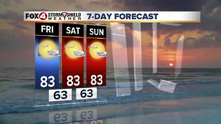 Sunny, Warm and Dry Through The Weekend 11-30 - Video