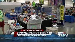 Security changes at Tucson Comic Con