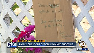 Family wants answers after officer- involved shooting