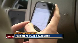 Mission to change distracted driving law - Video