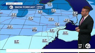 Metro Detroit Forecast: How much snow could we get?