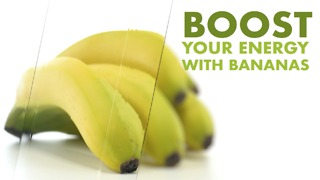 Boost Your energy with Bananas - Video