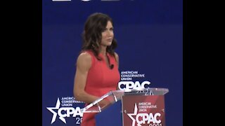 SD Governor Kristi Noem Shows CPAC What Good Governance Is
