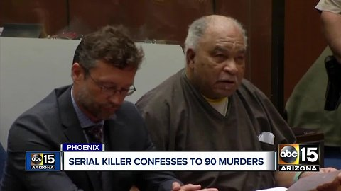Man confesses to at least 90 murders nationwide, including one in Arizona