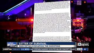 Ryan Boling writes letter of survival after escape - Video