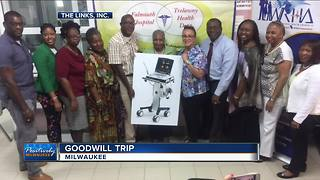 Milwaukee group helps Jamaican town with portable ultrasound