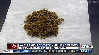 Warning about synthetic marijuana - Video