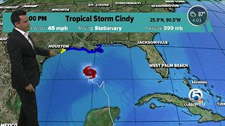 Tropical Storm Cindy - Video
