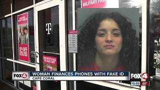Woman finances phones with fake IDs - Video
