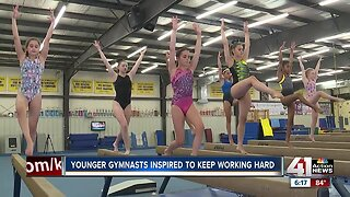 Local gymnasts take inspiration from US Gymnastics Championships in KC
