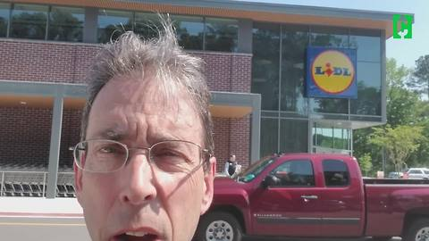 Clark Cam: Clark goes to Lidl