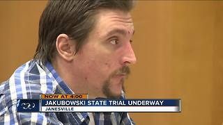 Jakubowski refuses to take oath at state trial - Video